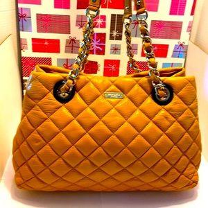 GentlyUsed Kate Spade Leather Mustard Shoulder Bag
